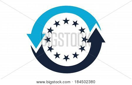 This image describe about Europe Exchange Logo