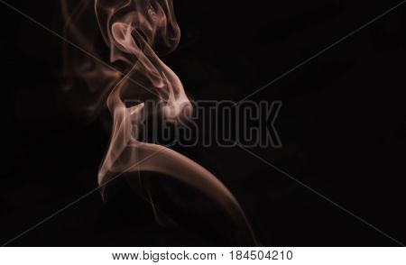 A Smoke Photography.This Smoke Was Photographed By Me In South India. Its A Kind Of Creative Photography. Thank You