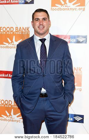 NEW YORK-APR 19: Zak Deossie attends the Food Bank for New York City's Can-Do Awards Dinner 2017 at Cipriani's on April 19, 2017 in New York City.