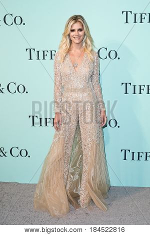 BROOKLYN, NY-APR 21: Lala Rudge attends the Tiffany & Co. 2017 Blue Book Collection Gala at St. Ann's Warehouse on April 21, 2017 in Brooklyn, New York.