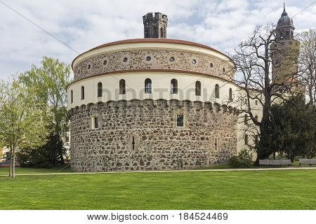 Kaisertrutz bastion building in the town of Goerlitz, Germany