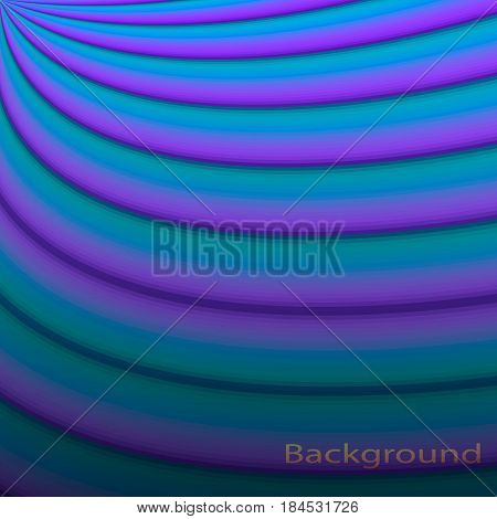 Blue and purple gradient ornamental lines texture background.