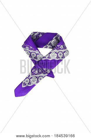 Lilac, Violet, Purple, Manzhenta Scarf, Bandanna, Pattern, Isola