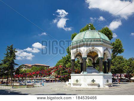German Fountain, Istanbul