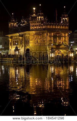 Golden Temple  is the holiest Gurdwara of Sikhism, located in the city of Amritsar, Punjab, India.