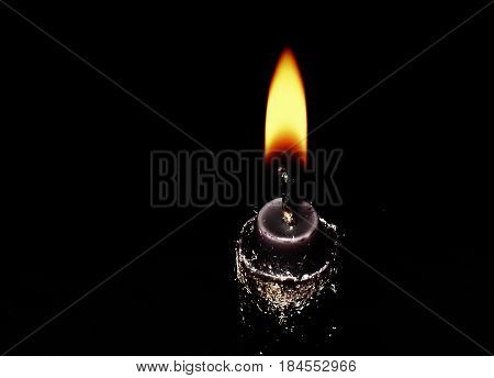 A beautiful image revealing the beauty and lull of a candle
