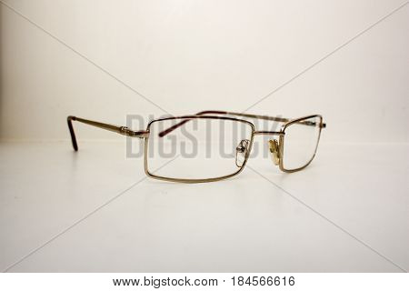 Glasses To Lie. The Concept Of Learning