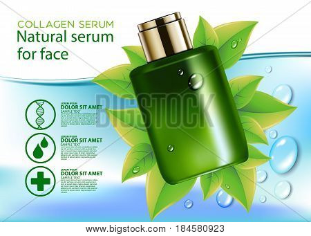 collagen beauty natural skincare design skin cosmetic