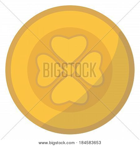 Gold money coin income profits cash wealth concept banking sign and payment exchange growth economy design earnings metal vector illustration. Investment market savings euro pay.