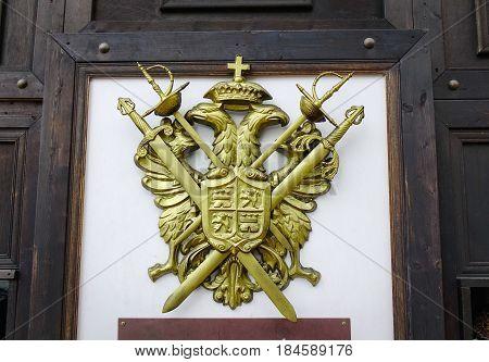 Symbol Of Russia, Two Headed Eagle
