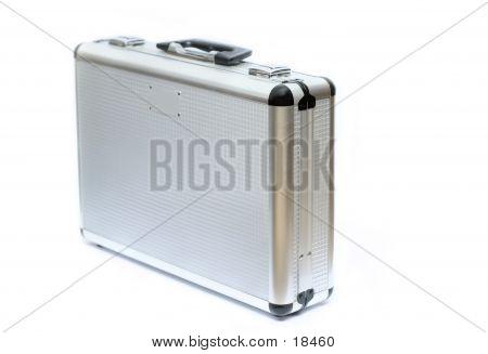 Metal Silver Briefcase