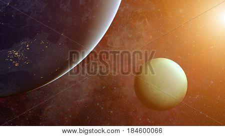 Solar System - Uranus. Science Background.