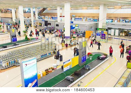 Pudong Airport Baggage Claim Hall