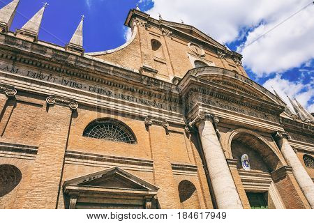 Rome, Italy -  Santa Maria Dell Orto Church