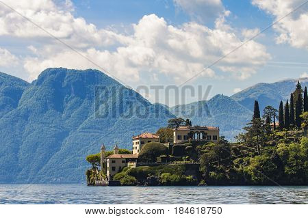 Villa Del Balbianello On Lake Como