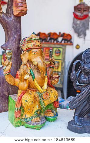 The Figurine Of Ganesha