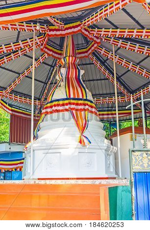 The Stupa In Ribbons