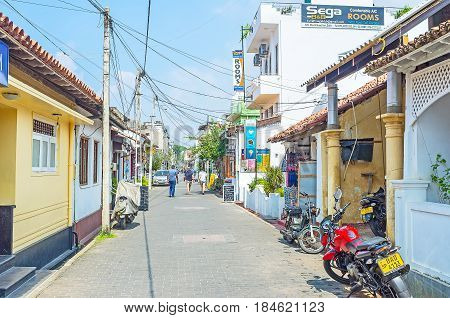 The Old Galle Town
