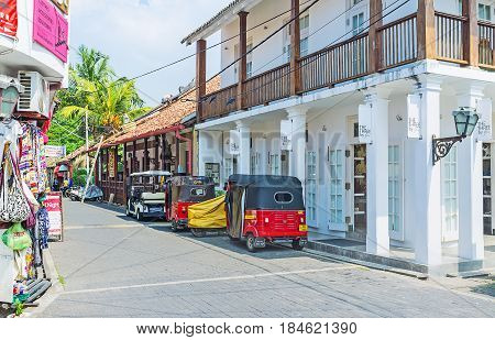 Old Town Of Galle