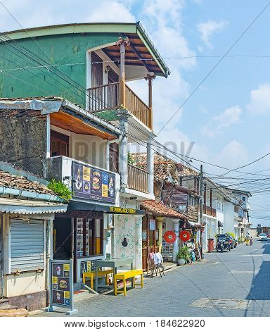 The Old Streets Of Galle