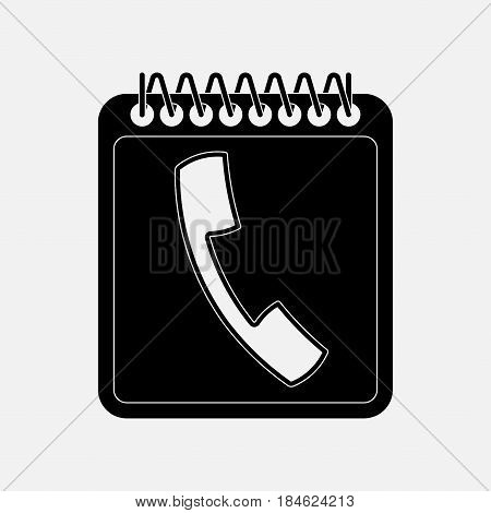 icon call communications call commit fully editable vector image