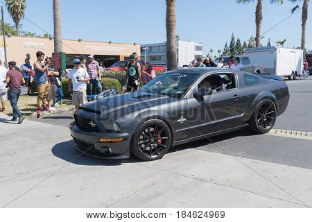 Ford Mustang Gt 500 Super Snake Fifth Generation On Display