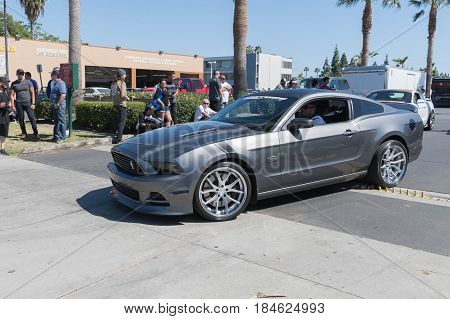 Ford Mustang 5.0 Fifth Generation On Display