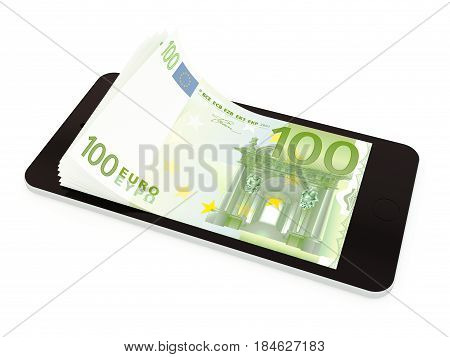 Mobile Payment With Smart Phone, Euro
