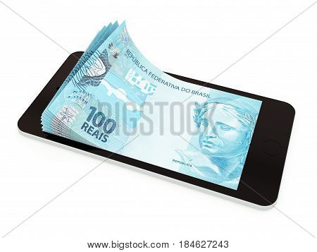Mobile Payment With Smart Phone, Brazilian Real