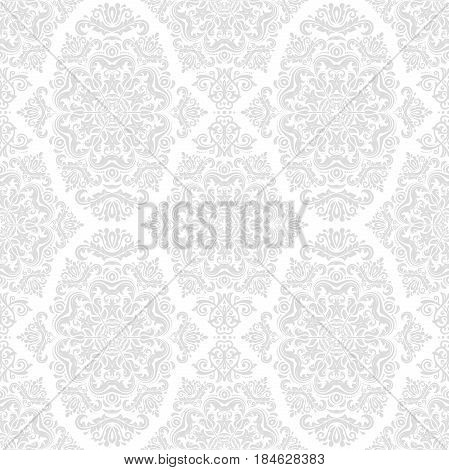 Classic seamless vector light pattern. Traditional orient ornament. Classic vintage background