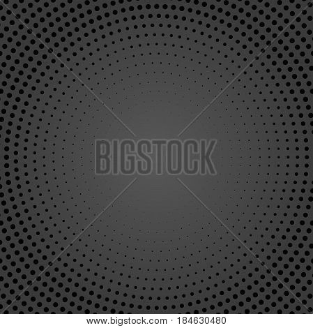 Geometric modern vector pattern. Fine ornament with dark dotted elements. Geometric abstract pattern