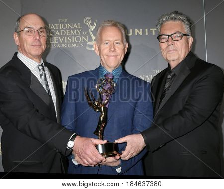 LOS ANGELES - APR 30:  General Hospital, Outstanding Dra ma Series Directing Team in the 44th Daytime Emmy Awards Press Room at the Pasadena Civic Auditorium on April 30, 2017 in Pasadena, CA
