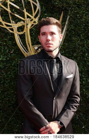 LOS ANGELES - APR 28:  Kristos Andrews at the 2017 Creative Daytime Emmy Awards at the Pasadena Civic Auditorium on April 28, 2017 in Pasadena, CA