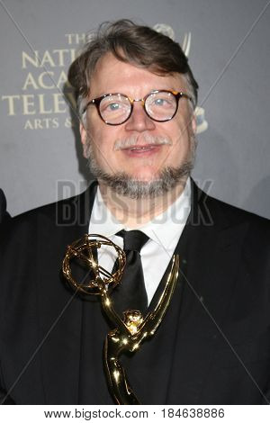 LOS ANGELES - APR 29:  Guillermo del Toro at the 2017 Creative Daytime Emmy Awards at the Pasadena Civic Auditorium on April 29, 2017 in Pasadena, CA