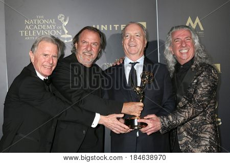 LOS ANGELES - APR 29:  Ken Corday, Music Direction and Composition winners for DOOL at the 2017 Creative Daytime Emmy Awards at the Pasadena Civic Auditorium on April 29, 2017 in Pasadena, CA