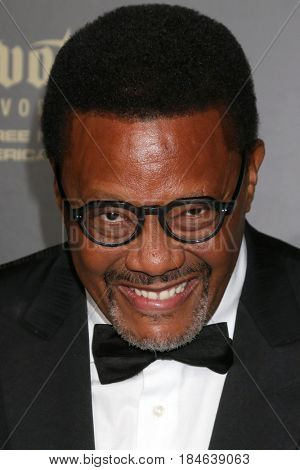 LOS ANGELES - APR 29:  Judge Greg Mathis at the 2017 Creative Daytime Emmy Awards at the Pasadena Civic Auditorium on April 29, 2017 in Pasadena, CA