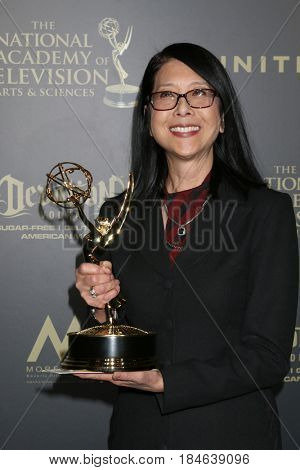 LOS ANGELES - APR 29:  Christine Lai-Johnson, Makeup, Bold and Beautiful at the 2017 Creative Daytime Emmy Awards at the Pasadena Civic Auditorium on April 29, 2017 in Pasadena, CA