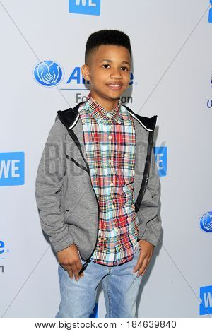 , LOS ANGELES - APR 27:  Demarjay Smith at the We Day California 2017 at The Forum on April 27, 2017 in Inglewood, CA