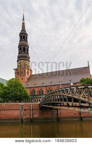 St. Catherine's Church, St. Katharinen, is one of the five principal Lutheran churches of Hamburg, Germany.