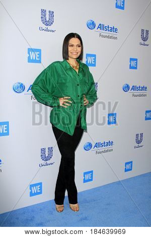, LOS ANGELES - APR 27:  Jessie J, Jessica Ellen Cornish at the We Day California 2017 at The Forum on April 27, 2017 in Inglewood, CA