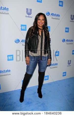 LOS ANGELES - APR 27:  Laila Ali at the We Day California 2017 at The Forum on April 27, 2017 in Inglewood, CA