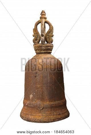 Traditional Thai architecture : Temple rusty bell