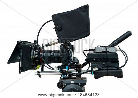 isolate dslr camra sut up to camcorder