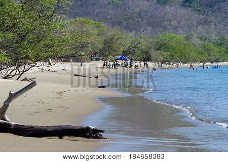 Junquillal Beach In Costa Rica