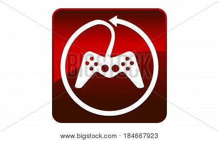 This image describe about Game Joystick Logo