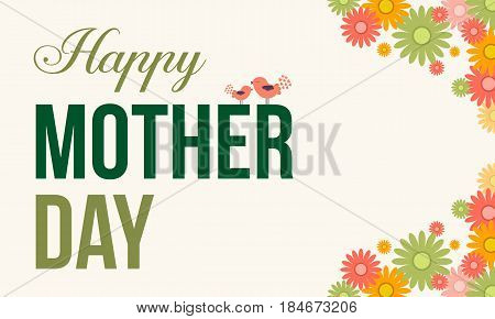 Illustration vector mother day style collection stock