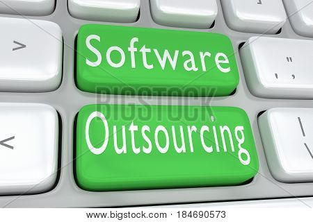 Software Outsourcing Concept