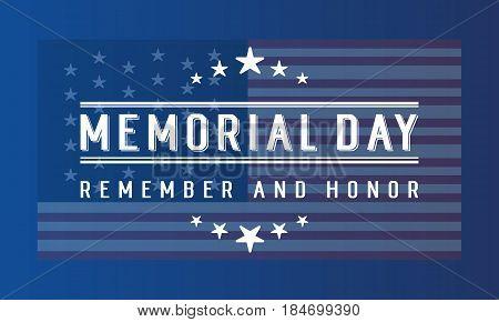 Memorial day banner collection stock vector art