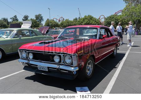 Ford Falcon Gt On Display