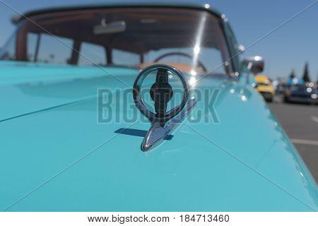 Ford Edsel Ornament On Display